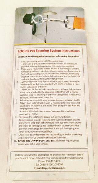 LOOP-EZ Pet Securing System