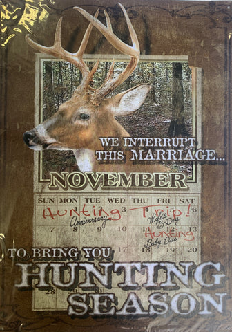 Deer Hunting Metal Sign Collection