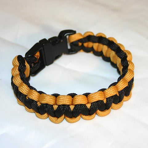 Black & Gold Survival Bracelet