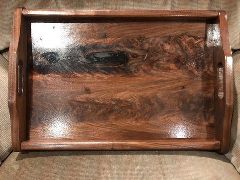 Unique Handmade Wooden Tray