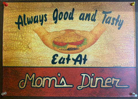 Mom's Diner - Metal Sign