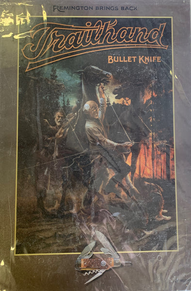 Bullet Knife by Remington Metal Sign Collection - 5 Designs
