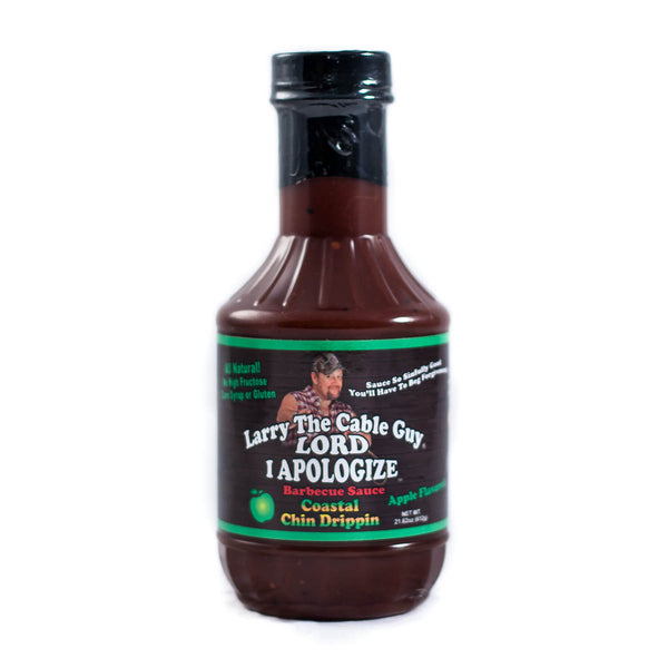 Larry the Cable Guy® Lord, I Apologize® BBQ Sauce - Coastal Chin Drippin'