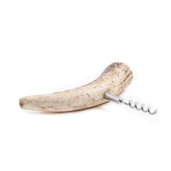 Authentic Deer Antler Cork Screw