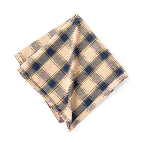 Check Cotton Napkins (Set of 4)