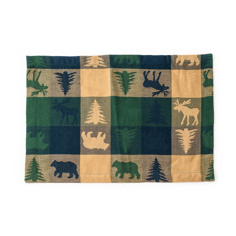 Wilderness Cotton Placemats & Napkins (Set of 2)