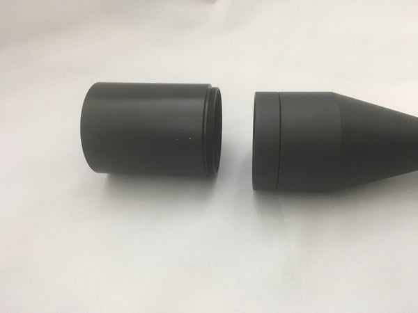 "GPO 3"" Sunshade Extensions for 42mm & 50mm Riflescopes"
