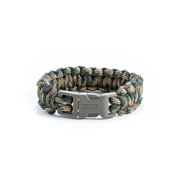 Green Camo Survival Bracelet