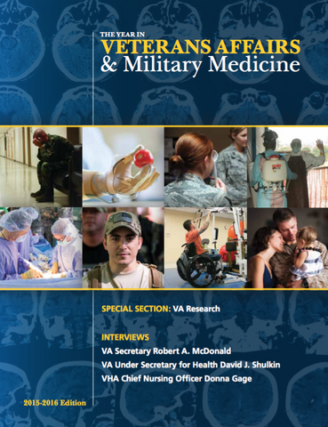 The Year in Veterans Affairs and Military Medicine: 2015-2016