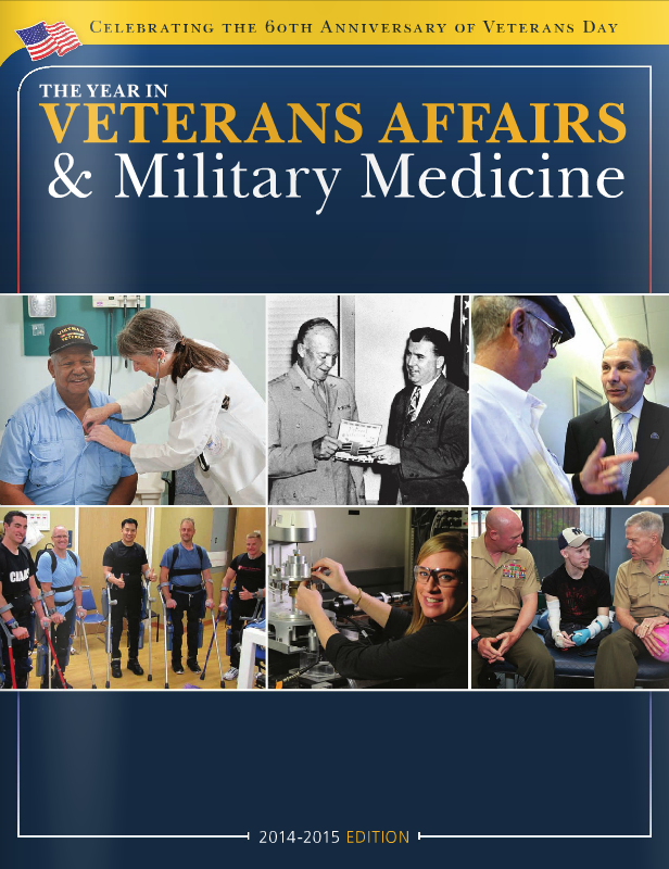 The Year in Veterans Affairs & Military Medicine: 2014-2015