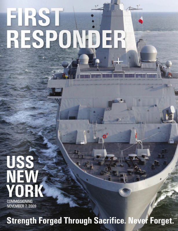 First Responder: USS New York Commissioning