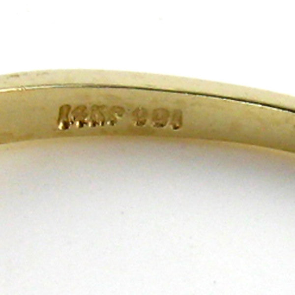 3/4 Carat Diamond Wedding Band in 14K Yellow Gold