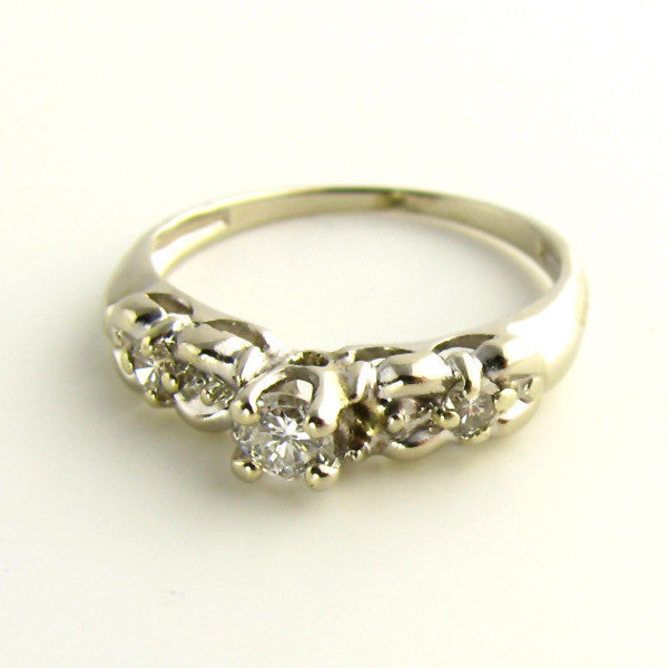 Affordable Wedding Ring White Gold