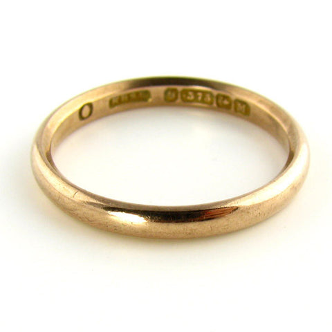 1861 Birmingham Rose Gold Ring
