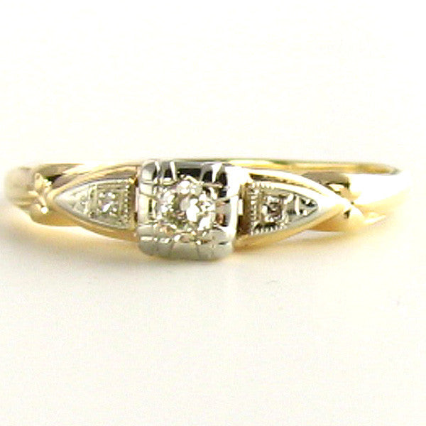Art Deco Diamond Ring: Dainty and Precious