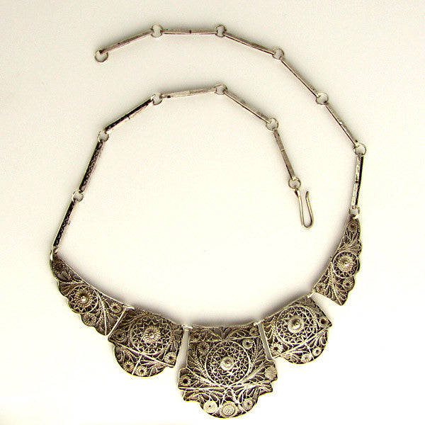 Filigree Jewelry Large Necklace