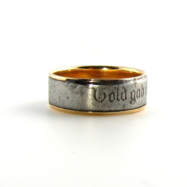 Berlin Iron Rose Gold Ring