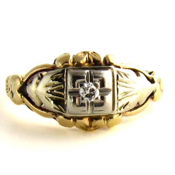 Intricate Art Deco Ring