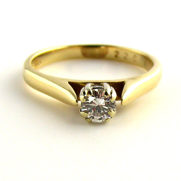 Stylish Modern Affordable Engagement Ring