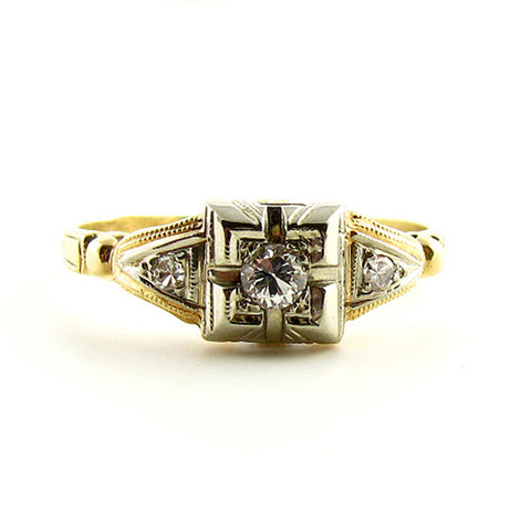 Sweetheart Vintage Ring Pinky Ring
