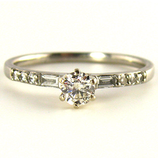 Quality 1/3rd Carat Diamond Engagement Ring