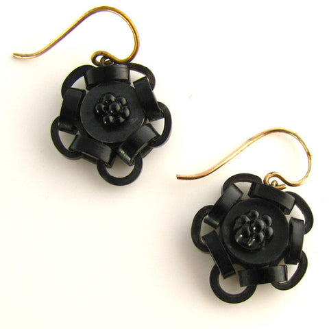 Victorian Chain Earrings - Front