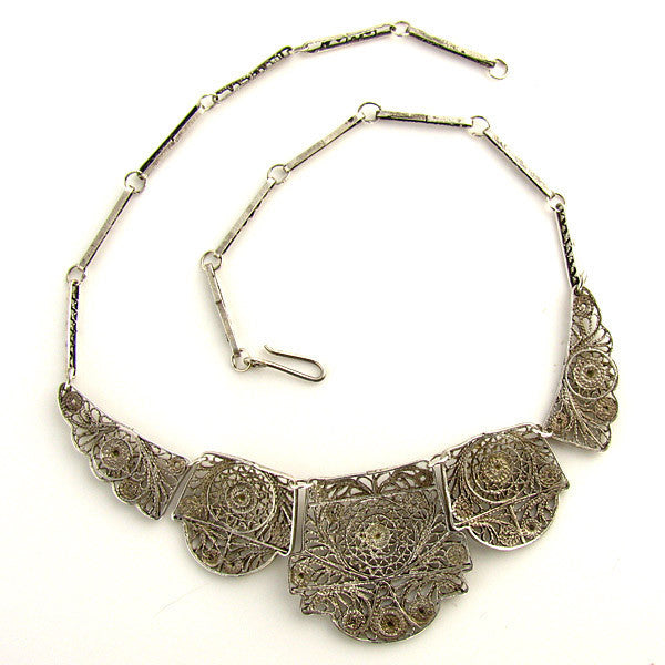 Vintage Filigree Necklace