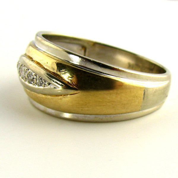 Vintage Mens Wedding Ring
