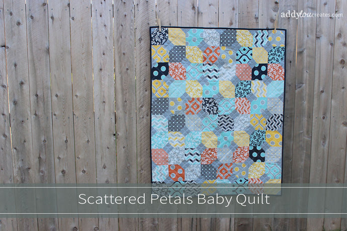 Quilt | Scattered Petals Baby Quilt
