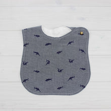 Load image into Gallery viewer, Bib | CHAMBRAY FISH