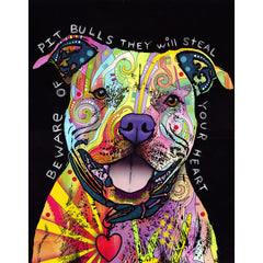 Pit Bull Dog Wall Art