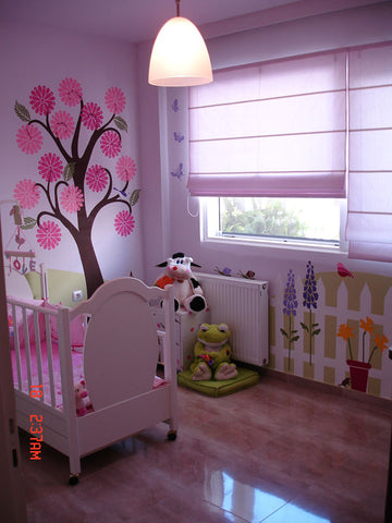 Girls Nursery Stencils