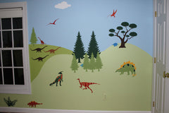 Dinosaur Themed Kids Room