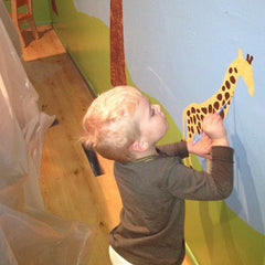 Painting Kids Wall Mural