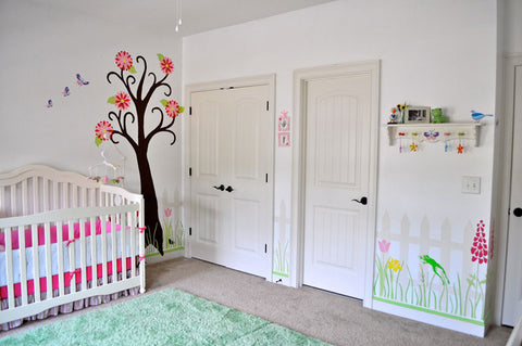 girls garden room