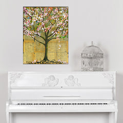 Spring Tree Wall Sticker