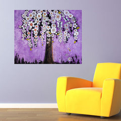 Orchid Tree Wall Decal