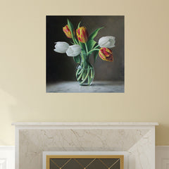 Tulip Art Decal