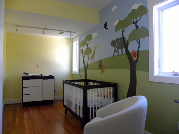 Jungle Safari Themed Nursery