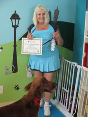 Happy Client at East Bay Dog Center