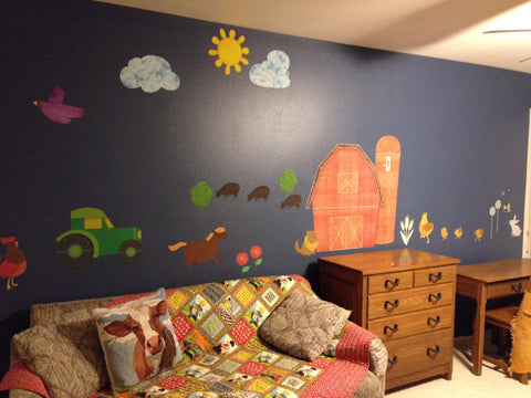 Farm Themed Playroom