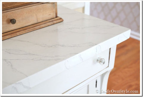 Painting Faux Marble
