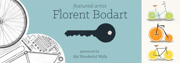 Florent Bodart Wall Stickers