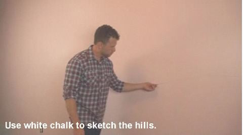 DIY Tutorial Paint Hills