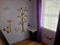 Forest Theme Mural