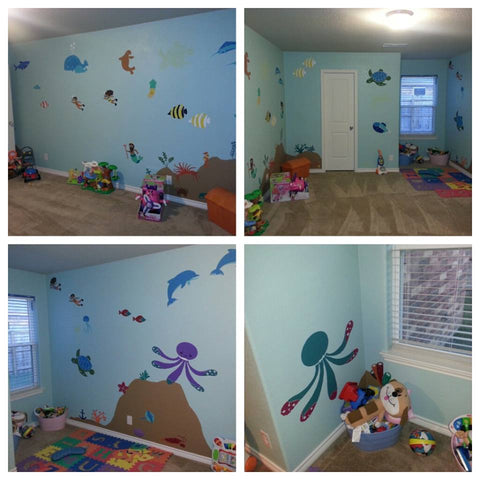 Under the Sea Playroom Mural