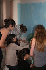 painting mural stencils