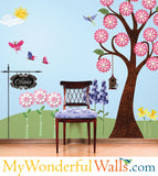 Splendid Garden Wall Stickers