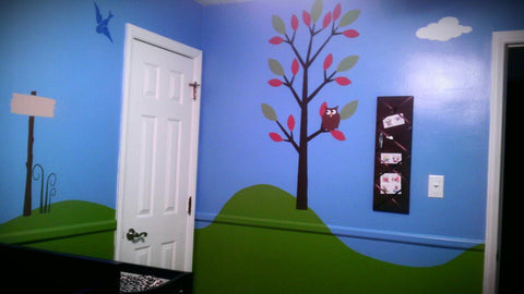 Forest Theme Baby Nursery