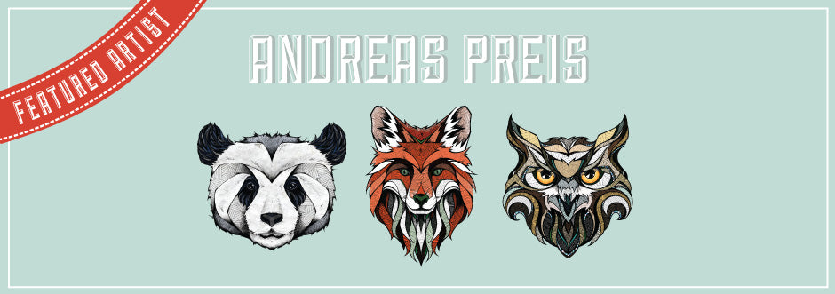 New Animal Art by Andreas Preis – Meet the Artist!